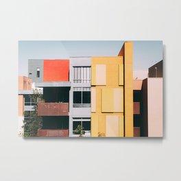 Los Angeles Architecture Metal Print