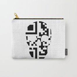 QR-Code Skull Carry-All Pouch