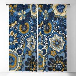 Mandala Floral Loveliness Blackout Curtain