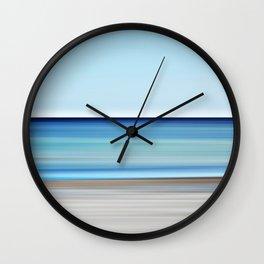 aqua - seascape no. 17 Wall Clock