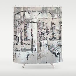 Evening at the Forum Shower Curtain