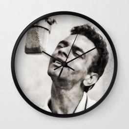 Johnny Mathis, Singer Wall Clock