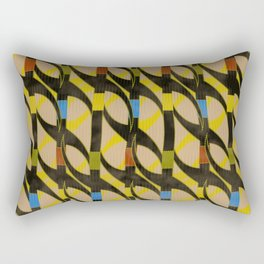 Partition of Water Rectangular Pillow