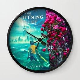 Percy Jackson & the Cherry Blossom Tree Wall Clock