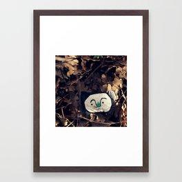woodland spirit - bear Framed Art Print