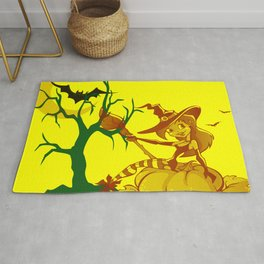 Sassy Little Witch Rug