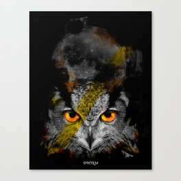 OWL NIGHT Canvas Print