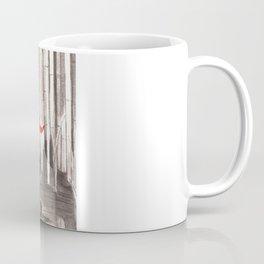 Death Wears a Mask Coffee Mug