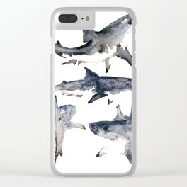 School or Shiver Clear iPhone Case