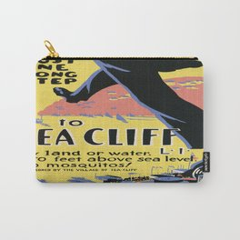Vintage poster - Sea Cliff Carry-All Pouch