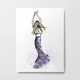 Lucía Metal Print