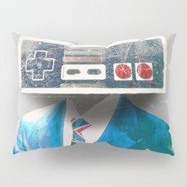Faces of the Past Console alt_no stripes Pillow Sham