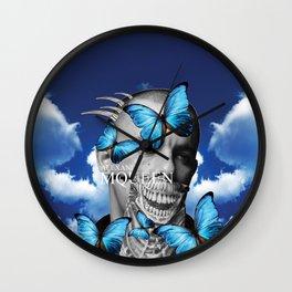 Tribute To Alexander Mc Queen Wall Clock
