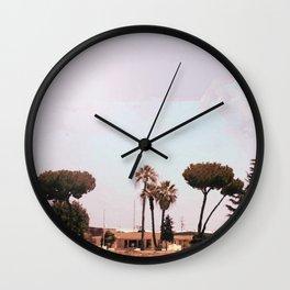 Across the Red Desert Wall Clock