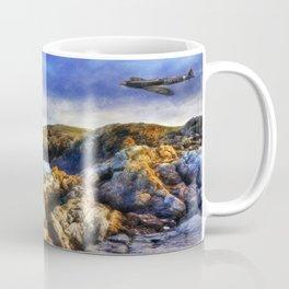 Spitfires On The Coast Coffee Mug