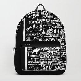 Utah Map Backpack