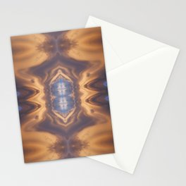Lenticular Cloud Symmetry Stationery Cards