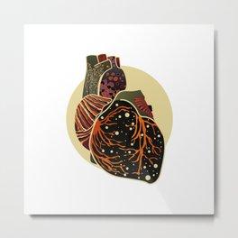 Be Still My Heart Metal Print