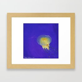 Dance of the Jelly Fish: Position II Framed Art Print