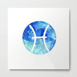 Gemini. Sign of the zodiac. Metal Print