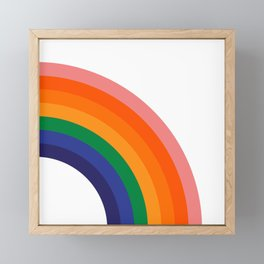 Fresh Bow - Right Framed Mini Art Print