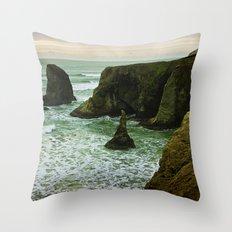 Pacific Northwest Coast Throw Pillow
