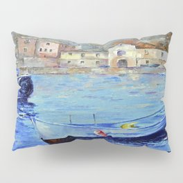 Lonely boat Pillow Sham
