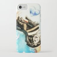 kingdom hearts iPhone & iPod Cases featuring Kingdom Hearts _ Sora  by KhalilKhalidy