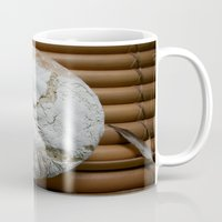 bread Mugs featuring Bread Winner by KunstFabrik_StaticMovement Manu Jobst