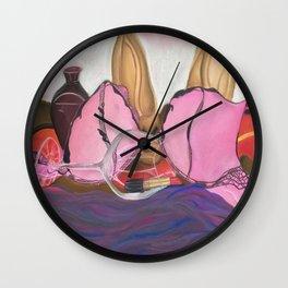 Scandalous Wall Clock