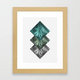 Botanic and green Framed Art Print