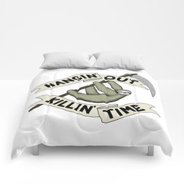 Hangin' Out Sloth Shirt Comforters