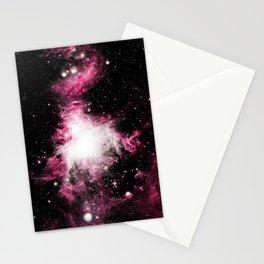 Orion Nebula Pink & White Stationery Cards