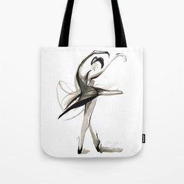 Dance Drawing Tote Bag