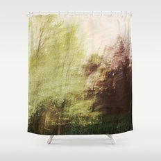 Trees in a dream Shower Curtain