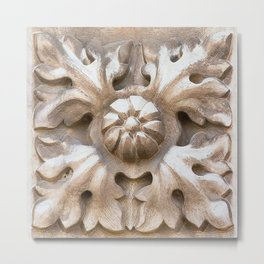carved stone Metal Print