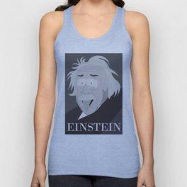 Einstein In Cartoon Stlye Unisex Tank Top