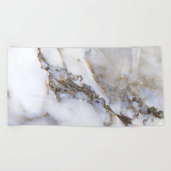 Marble ii Beach Towel