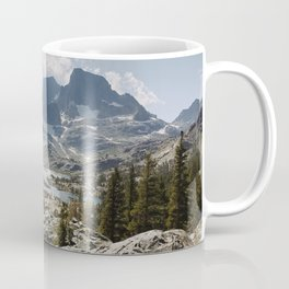 Partly Cloudy Afternoon in the Eastern Sierra Coffee Mug