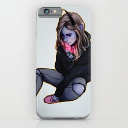 Night glow iPhone Case
