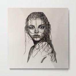 Barbara Palvin Metal Print