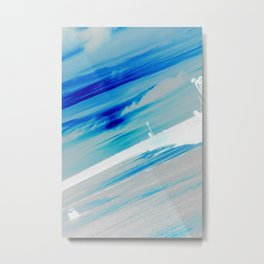 Blue Horizon Metal Print