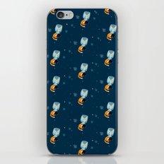 I´m not star fox (Pattern) # dark blue iPhone & iPod Skin