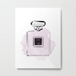 Purple perfume #2 Metal Print