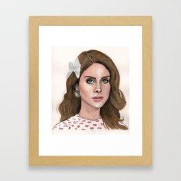 LanaDelRey Framed Art Print