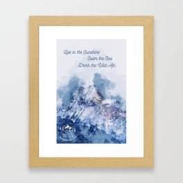 Drink the Air Framed Art Print