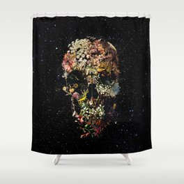 Smyrna Skull Shower Curtain