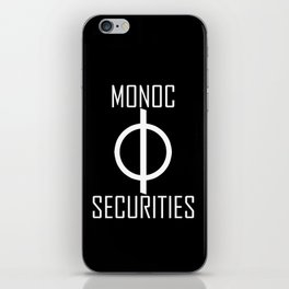 Monoc Securities iPhone Skin