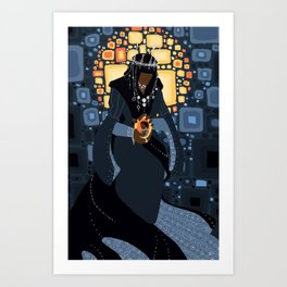 The Queen of the Night Art Print