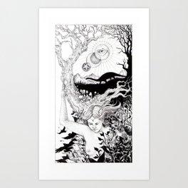 Tarot - The World Art Print